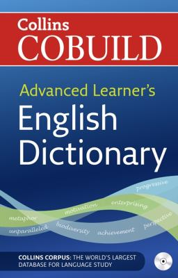 Cover of Advanced Learner's English Dictionary