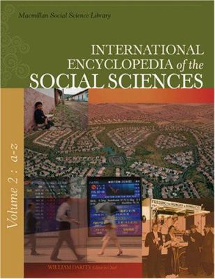 cover of International Encyclopedia of Social Sciences. 2nd edition.