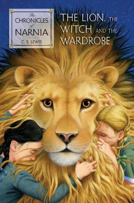Book cover for The lion, the witch, and the wardrobe.