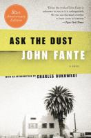 Book cover for Ask the Dust