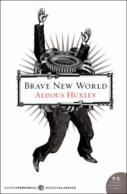 Book cover- Brave New World