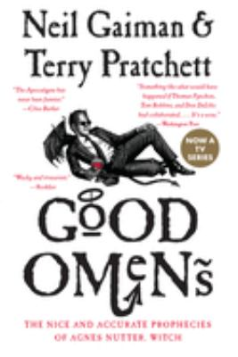 book cover: Good Omens