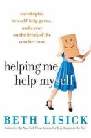 Book cover for Helping Me Help Myself by Beth Lisick