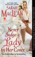 Book cover for Never Judge a Lady by Her Cover