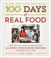 Book cover for 100 Days of Real Food