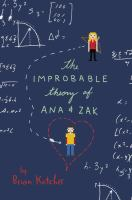 Book cover for The Improbable Theory of Ana & Zak
