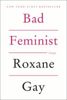 Book cover for Bad Feminist by Roxane Gay