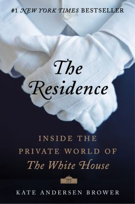 book cover: The Residence by Kate Brower