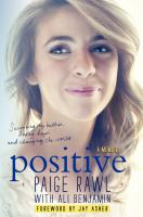 Positive book cover