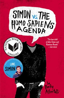 Simon vs. the Homo Sapiens Agenda Cover Art