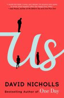 Book cover for Us by David Nicholls