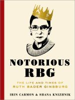 Book cover for Notorious RBG
