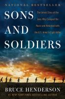 Sons and Soldiers book cover