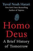 Homo Deus by Yuval Noah Harari book cover
