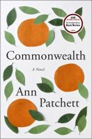 Book cover for Commonwealth by Ann Patchett