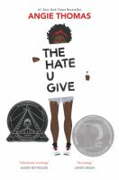 """""""The Hate U Give"""" Book Cover"""
