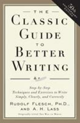 Book Cover For Classic Guide to Better Writing