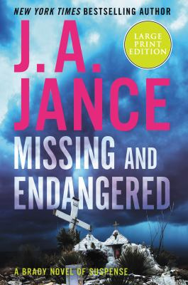 Missing and endangered [large print]