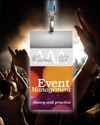 Event management : theory and practice