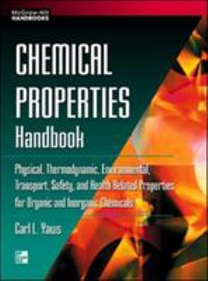 Cover Image: Chemical Properties Handbook