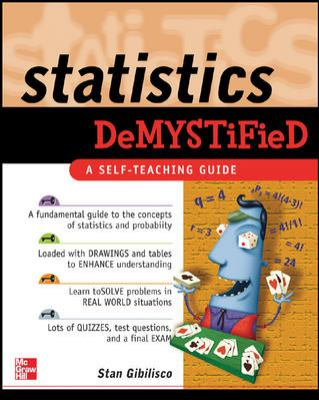 Book cover: Statistics Demystified
