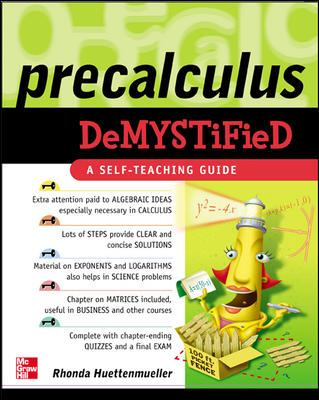 Precalculus Demystified (Cover Art)