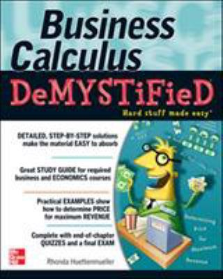 Business Calculus Demystified (Cover Art)