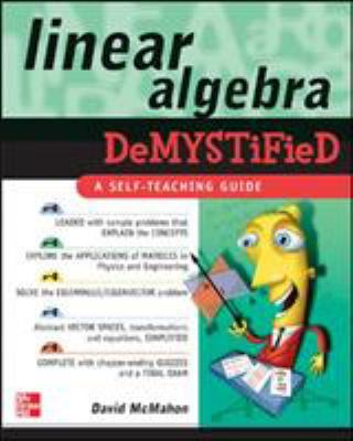 book cover: Linear Algebra Demystified