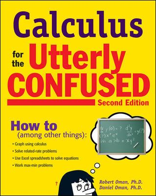 book cover - Calculus for the Utterly Confused
