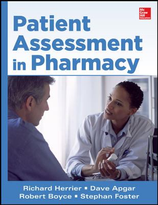 Book Cover: Patient Assessment in Pharmacy