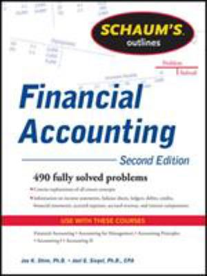 A picture of the front cover of Financial Accounting.