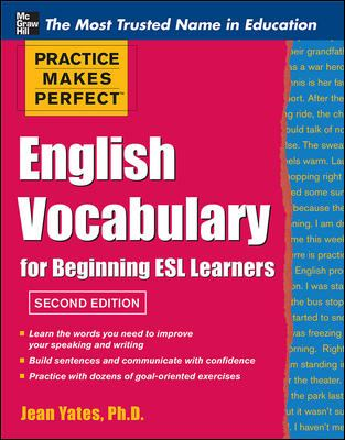 English Vocabulary Cover Art