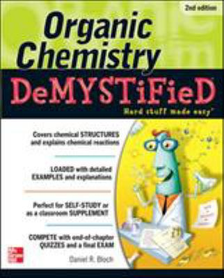 Organic Chemistry Demystified, cover art.