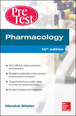 PreTest: Pharmacology