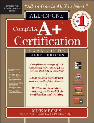 CompTIA A+ Certification All-in-One Exam Guide Cover Art