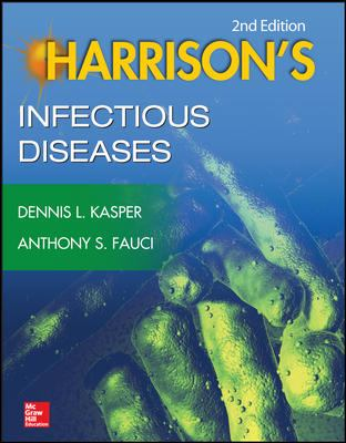 Book cover for Harrison's infectious diseases.