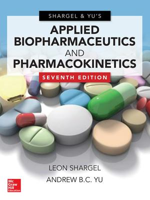 Applied biopharmaceutics and pharmacokinetics 7th edition book cover