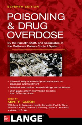 Poisoning & drug overdose (Cover Art)