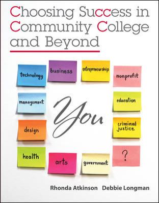 Choosing Success in Community College and Beyond