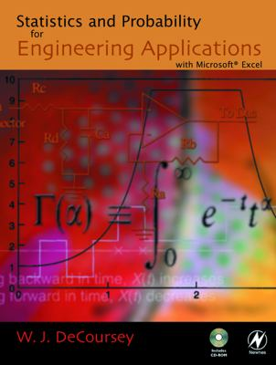 book cover: Statistics and Probability for Engineering Applications