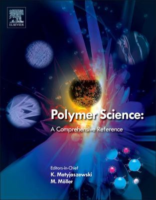 Cover art for Polymer Science - A Comprehensive Reference