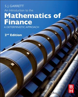 book cover: An Introduction to the Mathematics of Finance