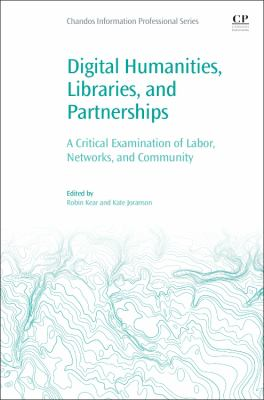 Book cover of Digital Humanities, Libraries, and Partnerships
