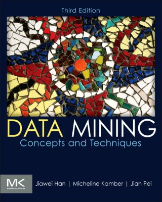 book cover: Data Mining: concepts and techniques