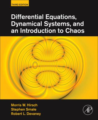 book cover: Differential Equations, Dynamical Systems, and an Introduction to Chaos