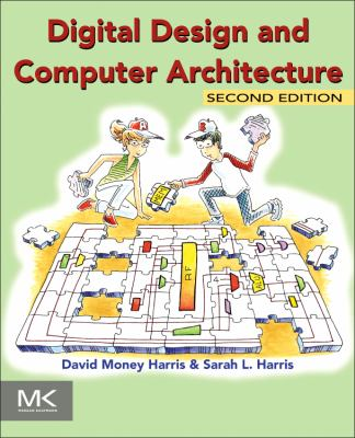 book cover: Digital Design and Computer Architecture