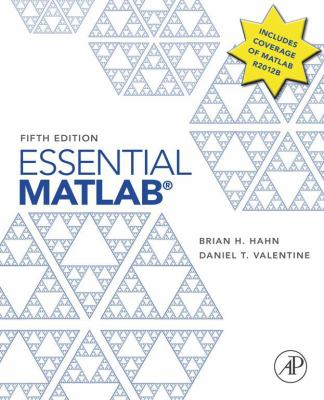 book cover: Essential MATLAB for Engineers and Scientists
