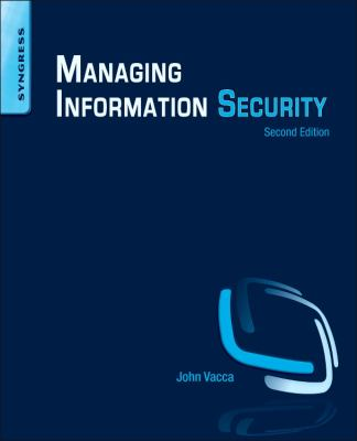 book cover: Managing Information Security