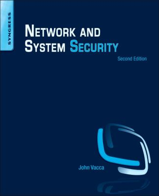 book cover: Network and System Security