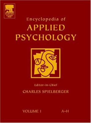 Book jackt for Encyclopedia of Applied Psychology